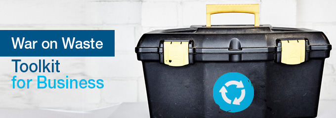 The war on waste toolkit for business