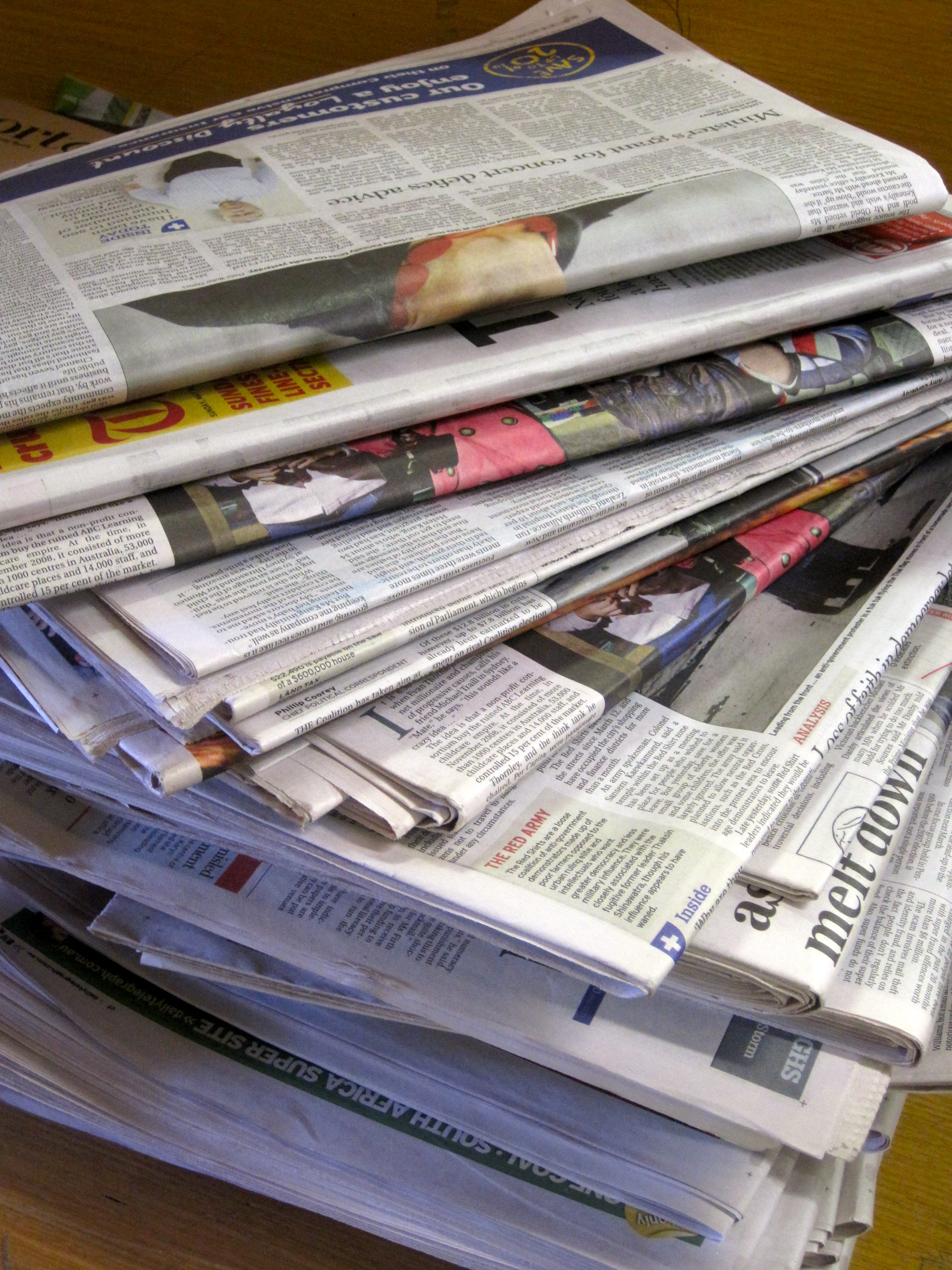 Newspaper stack business recycling media gallery for Plante x ark