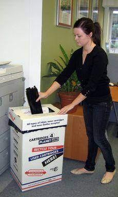 Workplace Cartridge Recycling © Jess McCallum