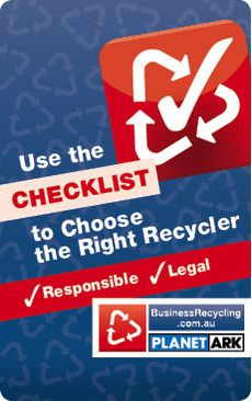 Choose the Right Recycler Checklist