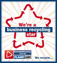Business Recycling Star