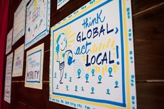 Think Global, Act Local Image