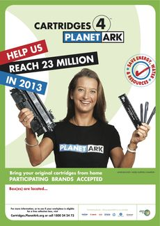 Layne Beachley Poster - 23 Million Cartridges