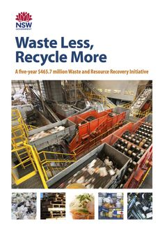 Waste Less Recycle More cover
