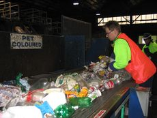 Recycling at MRF © Planet Ark