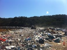 A landfill site in NSW © Claire Grant