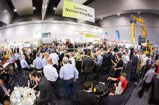 Networking at the Australiasian Waste & Recycling Expo © AWRE