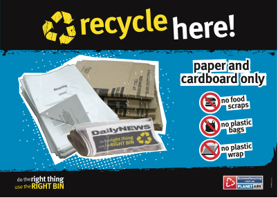 picture about Recycle Signs Printable called Signage and Posters - Office environment Recycling