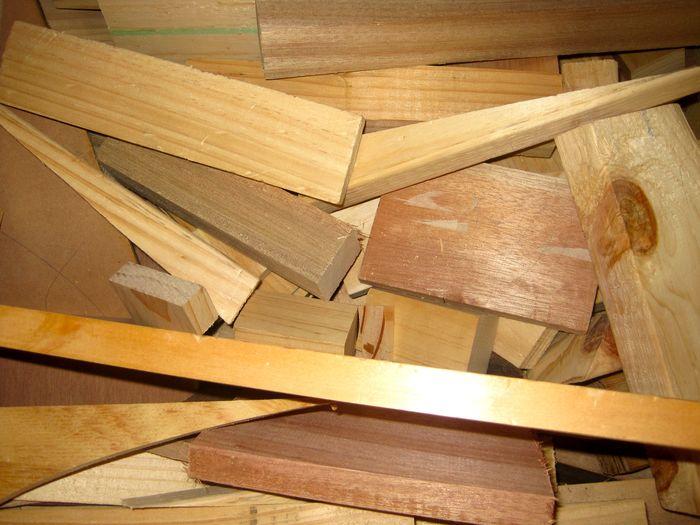 Timber scraps © Planet Ark