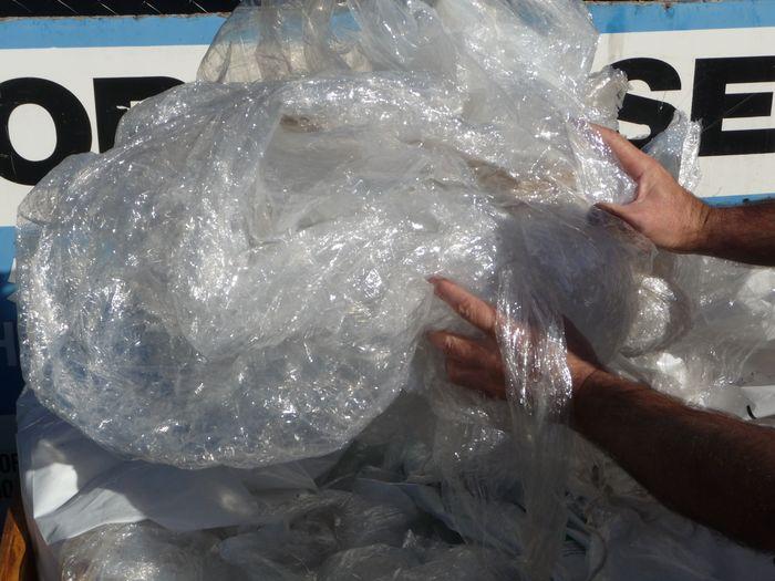 Shrink wrap waste © Planet Ark
